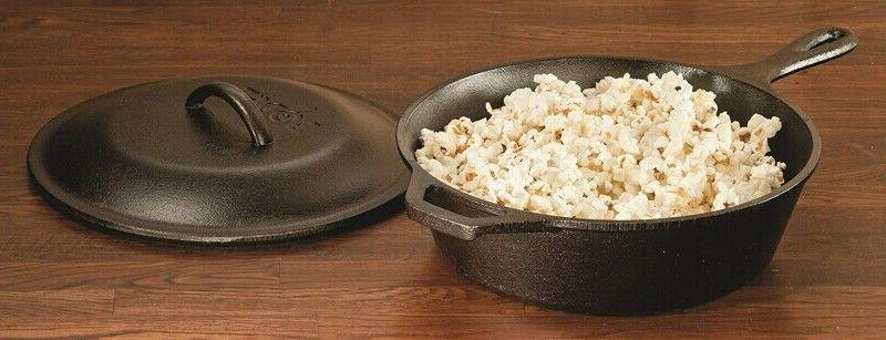 "Lodge Cast Iron 10.25"" Deep Bread Baking Pan"