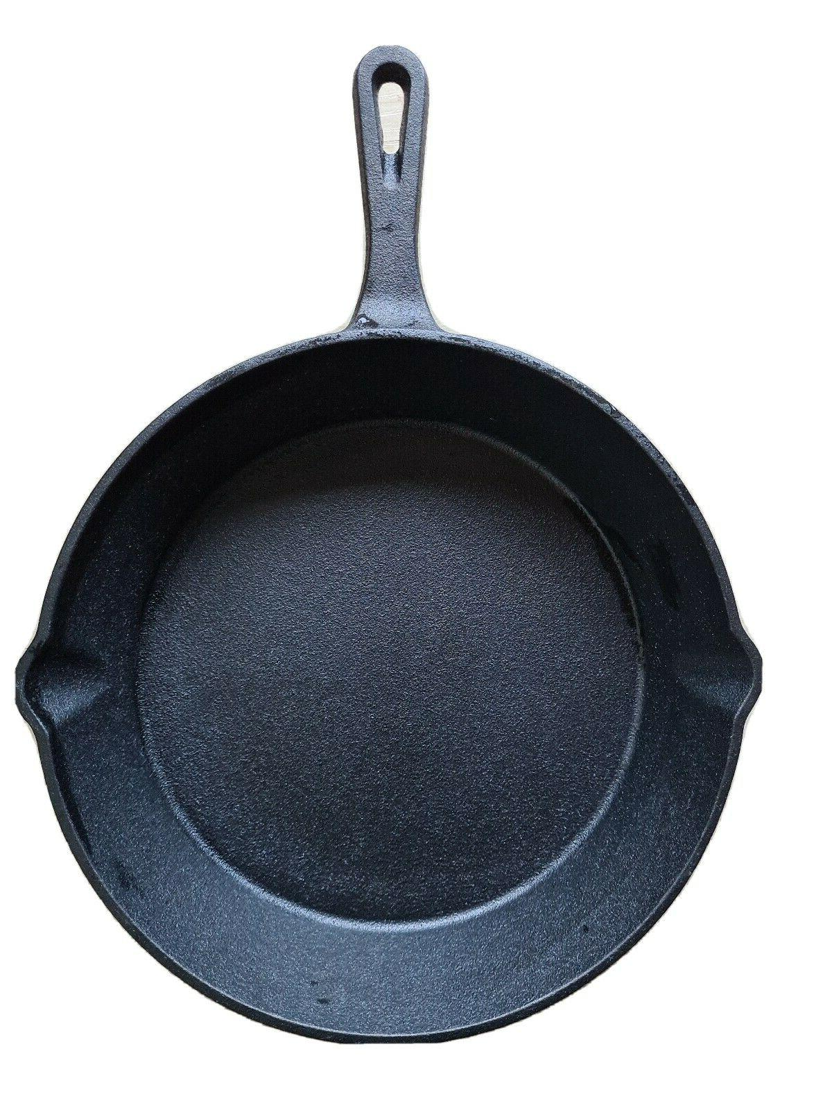 cast iron skillet 10 inch fry pan
