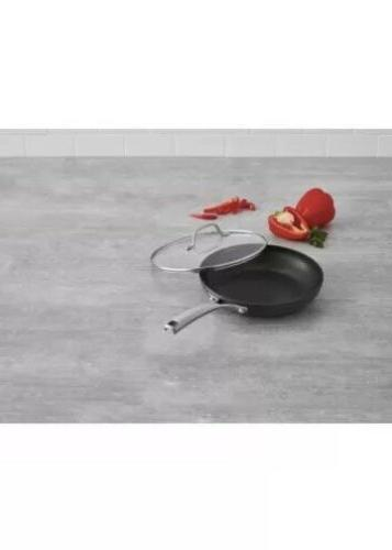 Calphalon Fry Pan with Cover, 10 Inch, NEW