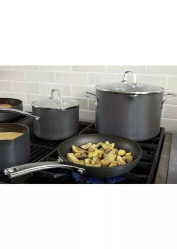 Calphalon Omelet Fry Pan Cover, 10 Inch, Grey Heavy NEW