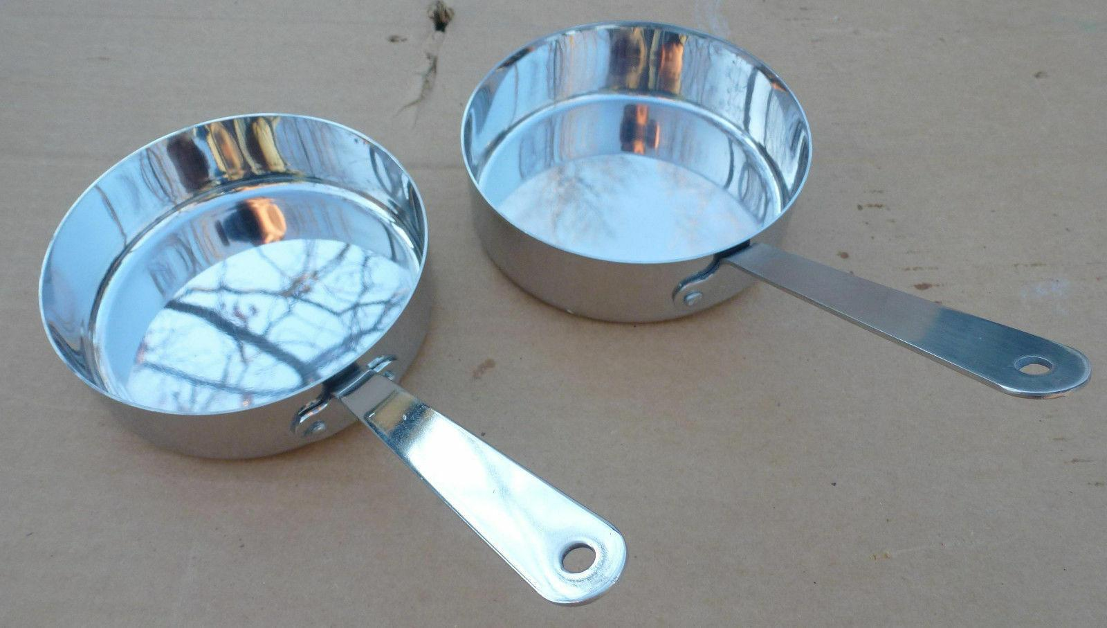 """4.75"""" Bon Chef Stainless Serving Side Pan mini fry"""