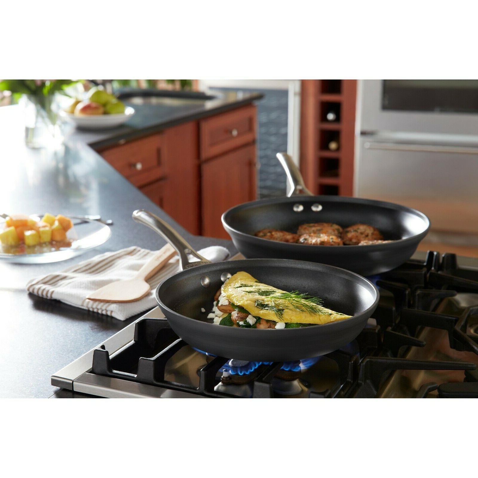 contemporary 10 inch and 12 inch nonstick