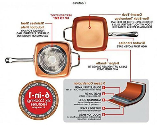 Copper Chef Cookware 10 Inches
