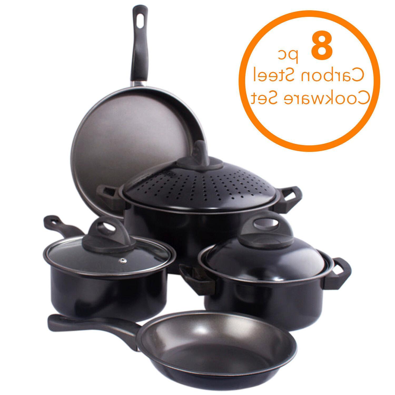 Cookware set Pot W/ Sauce Frying 8 pcs. Set