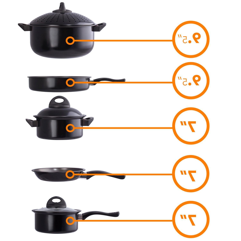 Cookware set Pot Lid Sauce Pan