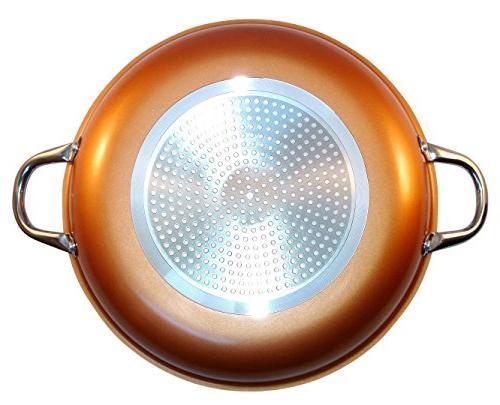 Copper With Non Stick Titanium Steel