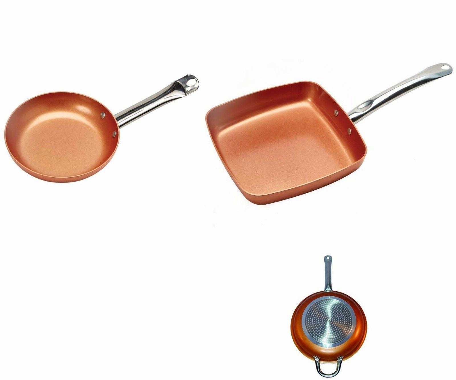 Copper Frying Ceramic NonStick Fry Chef