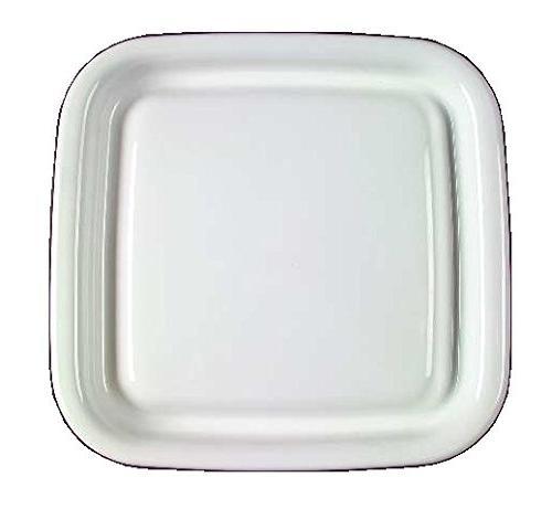 corning ware white coupe square