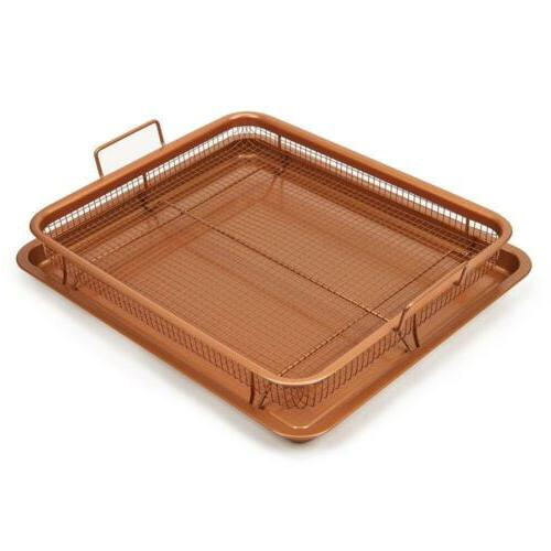 2-Piece Copper Air Pan by