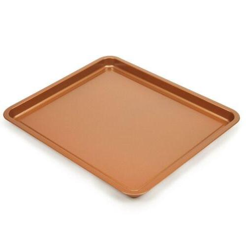 2-Piece Copper Air Pan by Copper Chef