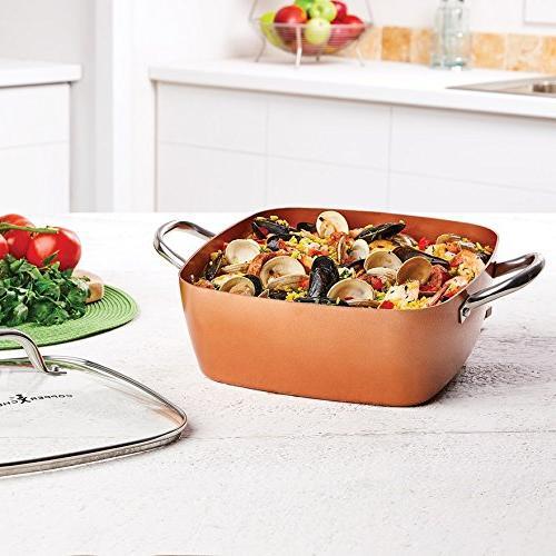 Copper Chef Casserole Pan Set