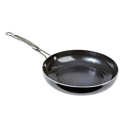 "Diamond 9.5"" Stick Fry High Quality Aluminum Frying Pan"