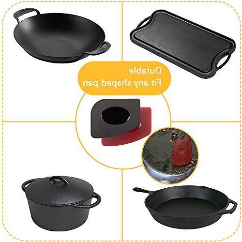 Haicheng Grill Set Hot Holder for Cast Iron Pans