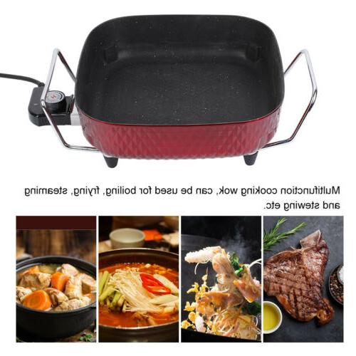 Electric Skillet Electric Frying Pan Inch NEW