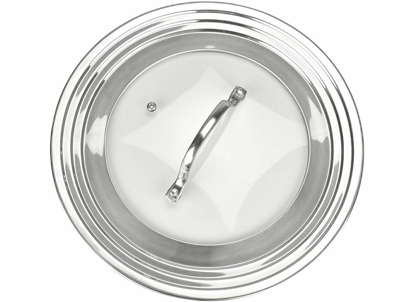 Elegant Stainless Universal Pots Pans Frying Pan Cover