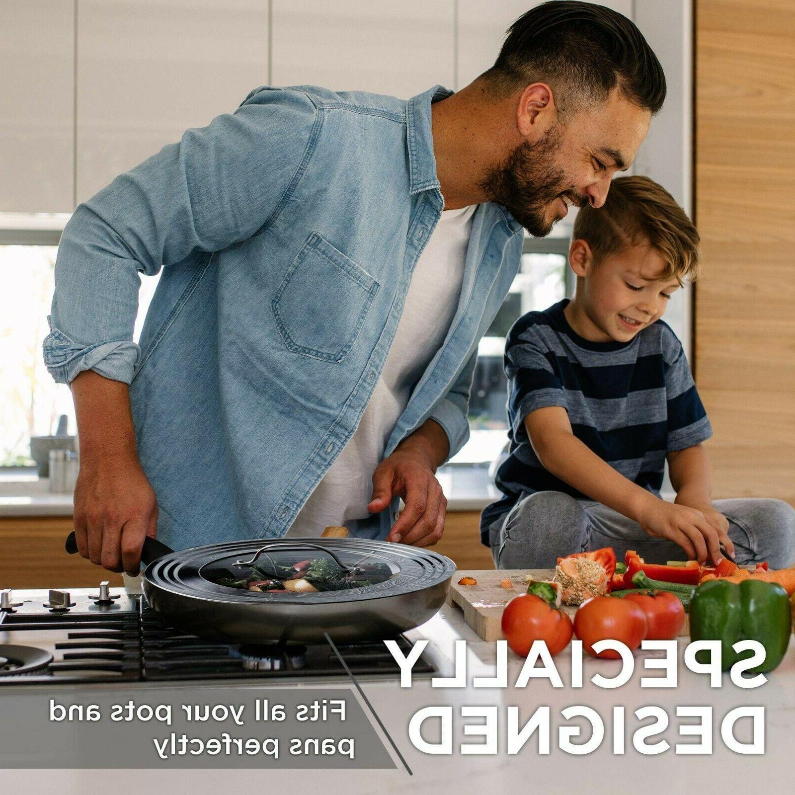 Elegant Stainless Steel Universal Frying Cookware