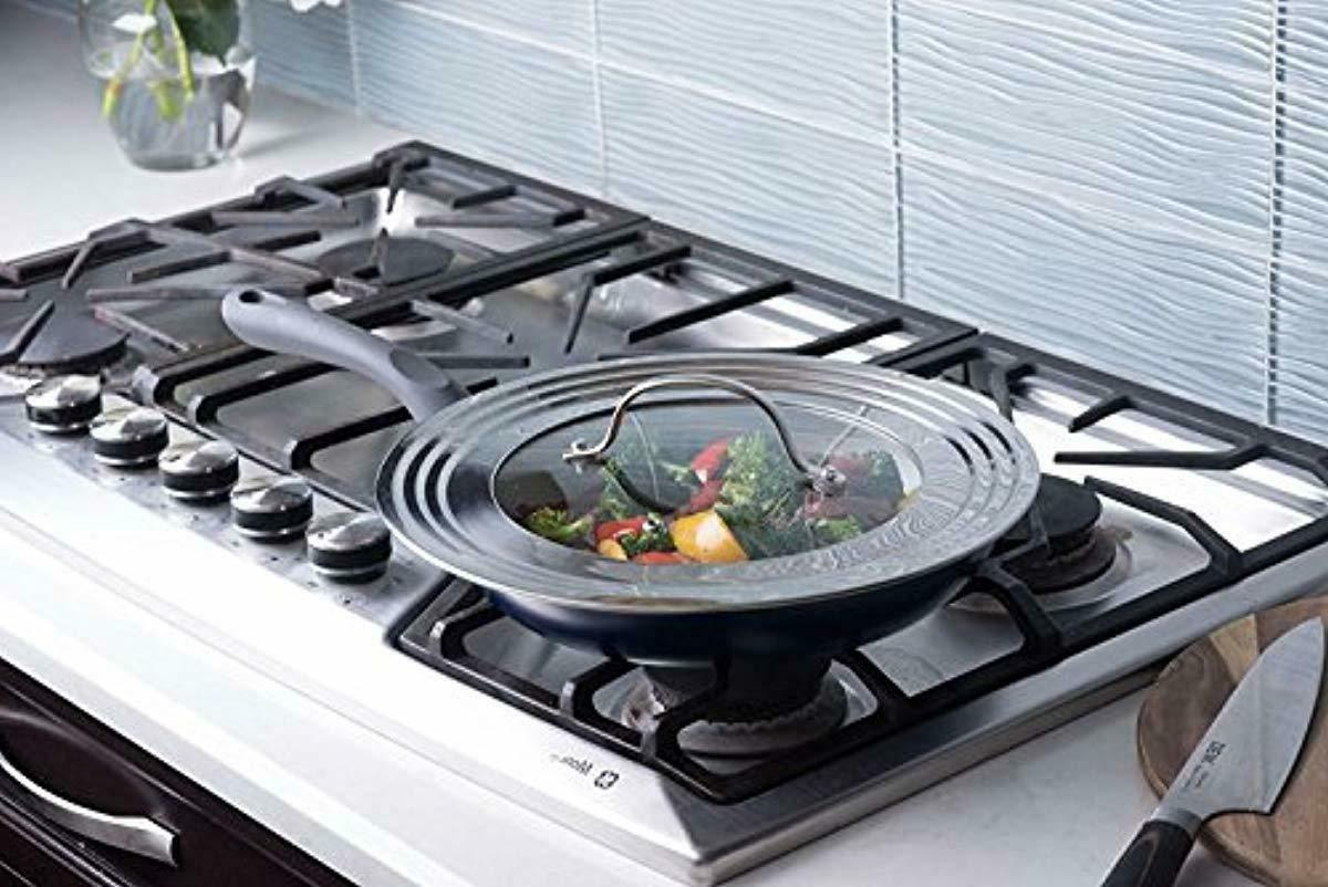 Elegant Stainless Glass Universal Pots Frying