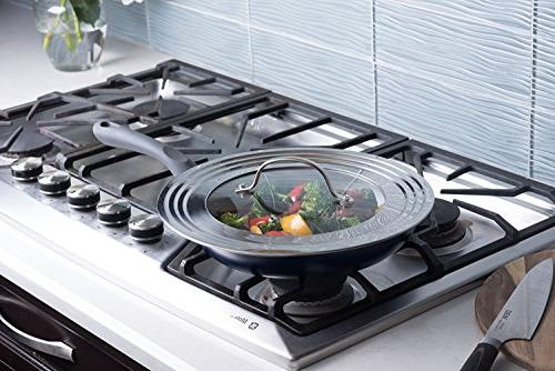 Elegant Stainless Steel and Glass Universal All Pots Frying Cookware - Modern Innovations
