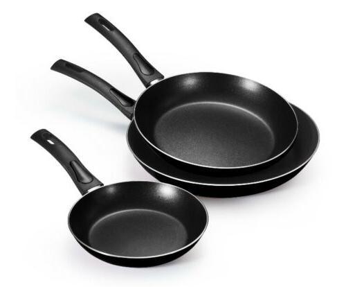 everyday aluminum nonstick fry pans
