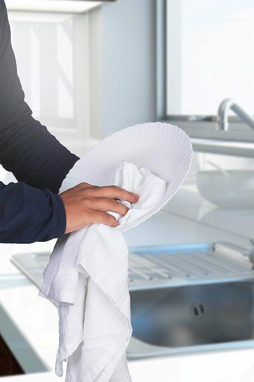 28 x 28 Flour Sack Towels Absorbent Utopia Kitchen