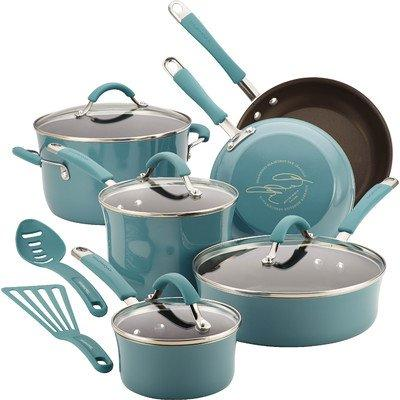 food network cookware set nonstick