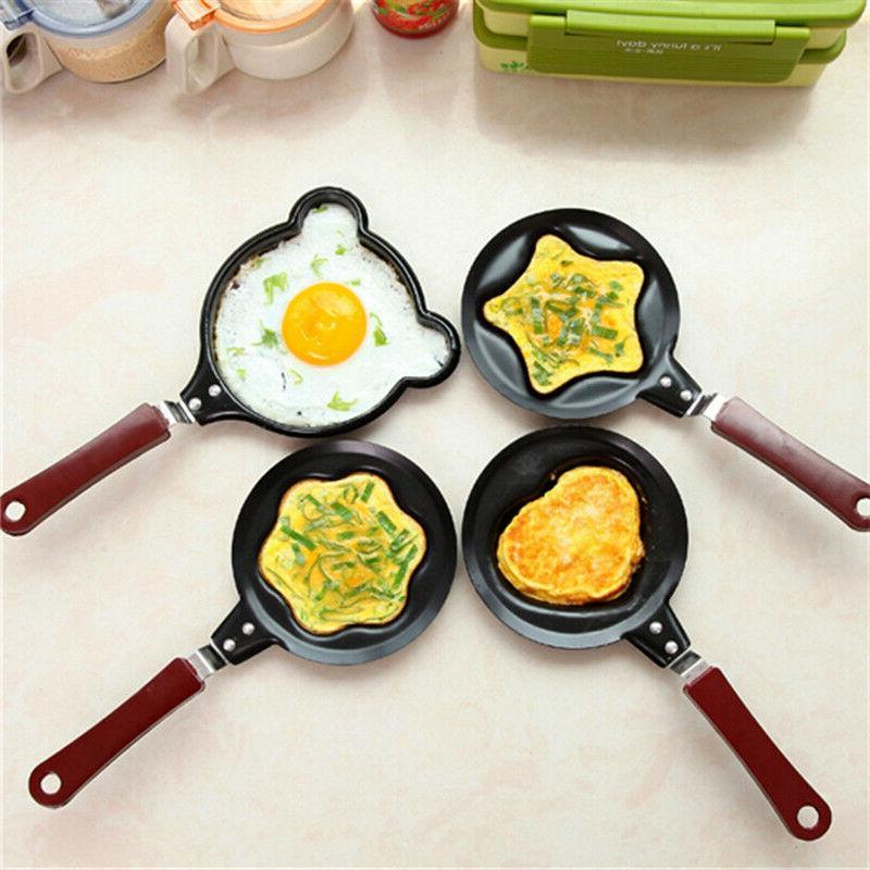 Frying Pan 1 Pcs Non Stick Small Mold Cookware Egg Cake Baki