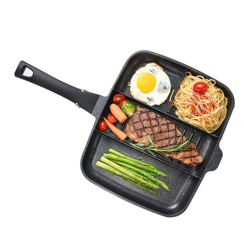 Frying Pan Medical Stone Cookware Pans For Pancake Egg Pot G