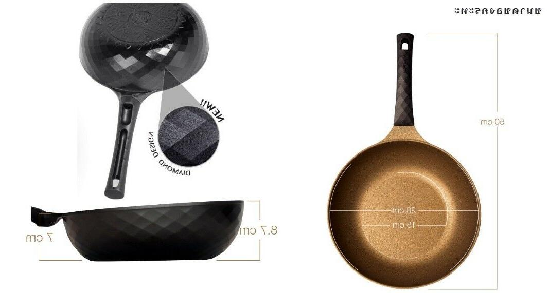 Frying cook ware, marble nano King