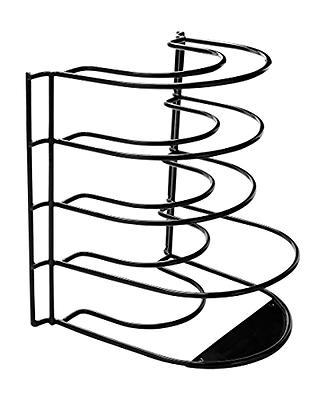frying pan rack standing holder