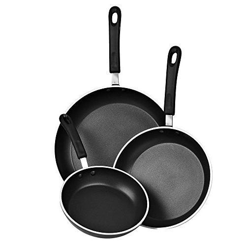 Cook N Piece Frying Set Coating Induction Black
