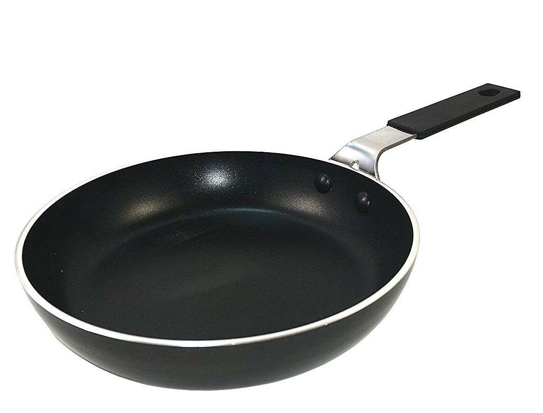 frying pan small round mini aluminum non