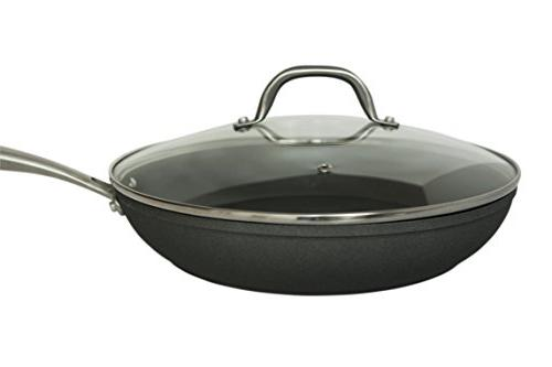 Glass 10.25 Tempered Cookware | Stainless and | Oven Safe and | Perfect Steaming, Simmering,