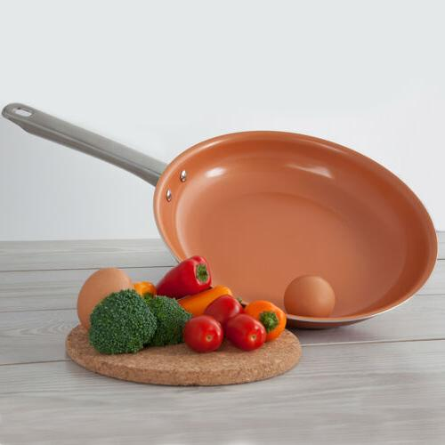 healthy non stick copper ceramic