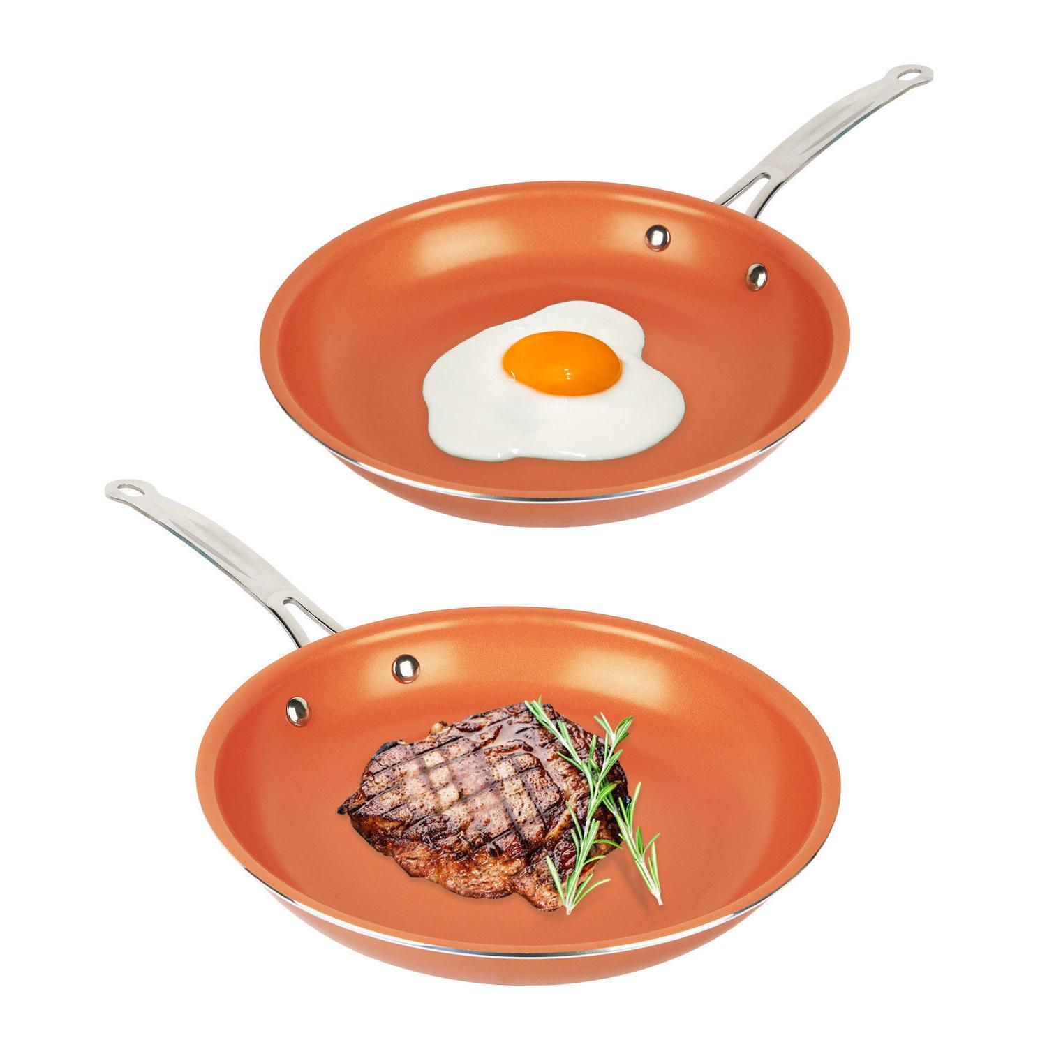 Healthy Non Stick Ceramic Induction Frying Pan