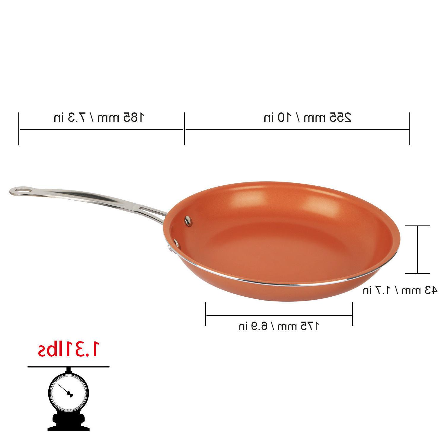 Non-Stick Copper Pan Kitchen