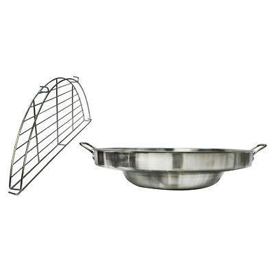 Steel Comal Frying Pan Rack