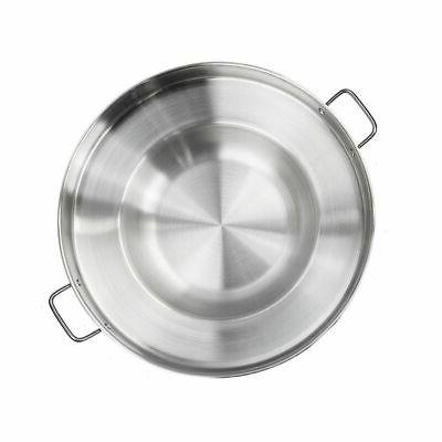 Heavy Stainless Steel Pan Wok Grill Griddle Rack