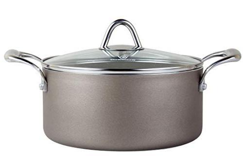 WaxonWare Pan, Saucepan, PTFE APEO Nonstick and Set, Safe Cookware Coating