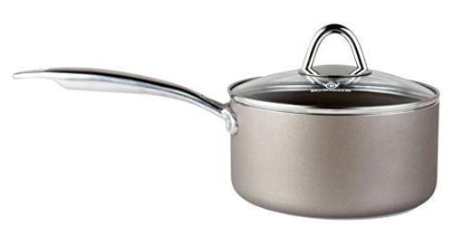 WaxonWare Cookware Pan, Saucepan, Oven, PTFE APEO Nonstick and Set, Induction Oven Safe With Coating
