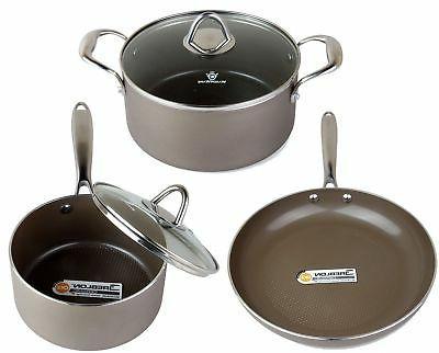 hive nonstick cookware set pots