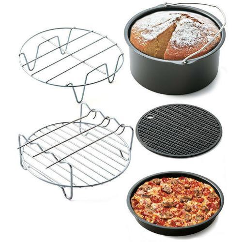 5pcs/set 7 inch Cookware Sets Home Air Frying Pan Pot Fryer