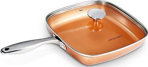 Copper Frying - Inch Bottom - Glass Utopia
