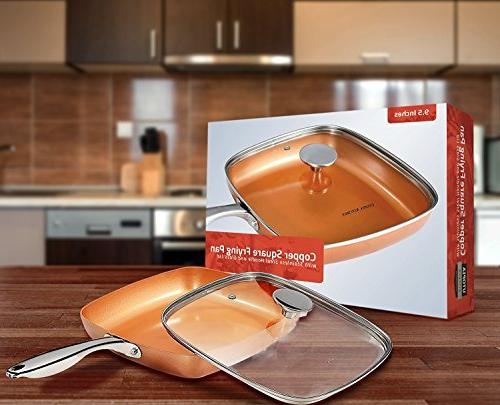 Copper Frying - Inch Induction - Glass Utopia Kitchen