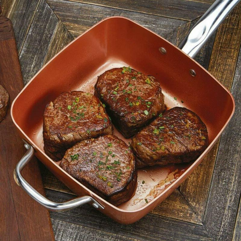 Copper Chef Kc15053-04000 Set 5, 5 Pieces, Copper