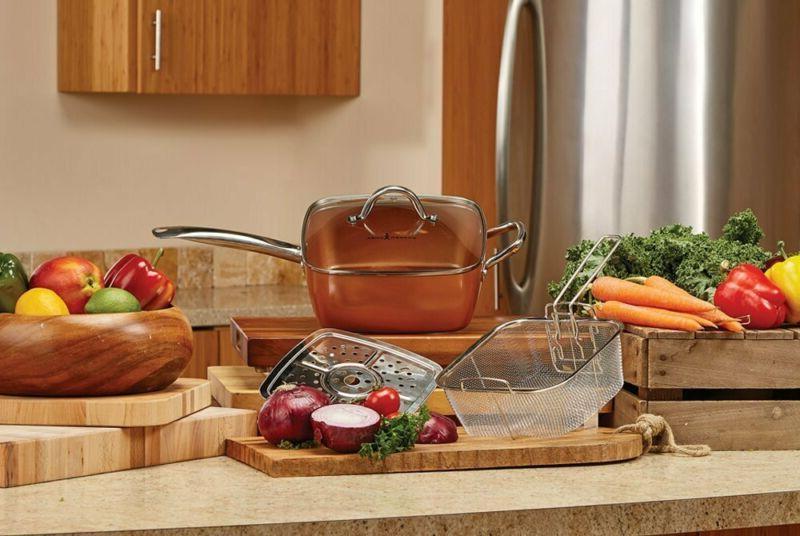Copper Chef Set Pieces, Copper