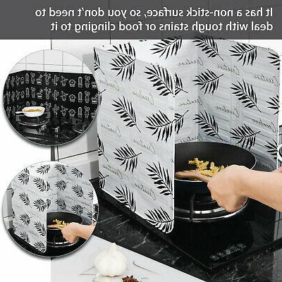 Kitchen Anti Splatter Shield Pan Oil Splash US