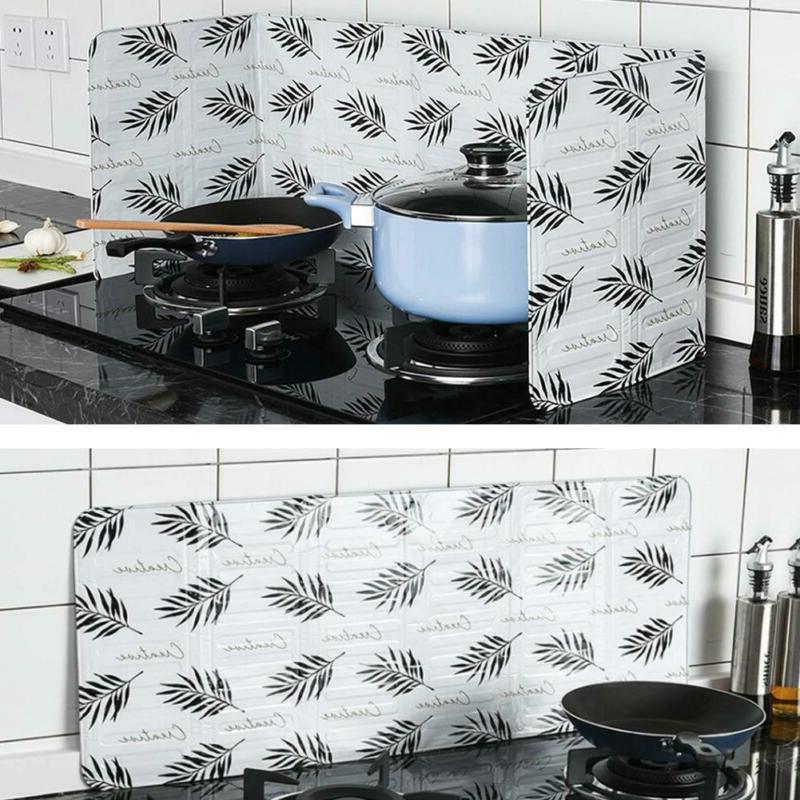 Kitchen Cover Anti Splatter Shield Guard Pan Oil