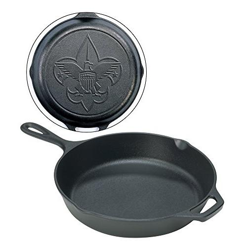 "Lodge Logic 12"" Boy Scouts of America Skillet"
