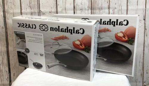 lot of 2 classic nonstick fry pan