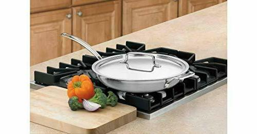 Cuisinart MultiClad Stainless 12-Inch with Helper